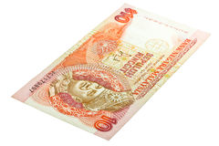 Alte Banknote von Malaysia. Stockbild
