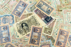 Alte Banknoten Stockfoto
