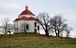 Alte barocke Kapelle Stockbild