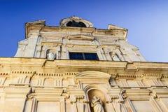 Alte barocke Kirche Chiesa di San Giovanni Evangelista in Parma Stockfotos