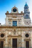 Alte barocke Kirche Chiesa di San Giovanni Evangelista in Parma Stockfotografie