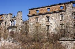 Alte barocke Villa Stockfoto