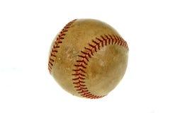 Alte Baseballkugel Lizenzfreie Stockfotos
