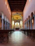 Alte Basilika in Porec Stockfotos
