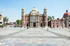 Alte Basilika von unserer Mary von Guadalupe, Mexiko City Lizenzfreie Stockfotos
