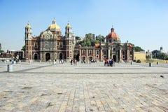 Alte Basilika von unserer Mary von Guadalupe, Mexiko CityAncient B Lizenzfreie Stockbilder