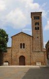 Alte Basilika weihte Heiligem Franziskus von Assisi in Ravenna ein Lizenzfreie Stockbilder