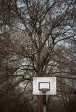 Alte Basketballkante Lizenzfreies Stockfoto