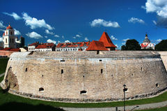 Alte Bastion und Festungsmauern in Vilnius, Litauen Lizenzfreie Stockfotos