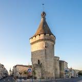 Alte Bastion von der Festung von Libourne-Stadt Stockbilder