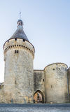 Alte Bastion von Festung Libourne-Stadt - Frankreich Lizenzfreie Stockbilder
