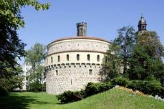 Alte Bastion von Goerlitz in Deutschland Stockfotografie