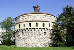 Alte Bastion von Goerlitz in Deutschland Lizenzfreies Stockbild