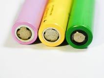 Alte Batterien Lizenzfreie Stockbilder