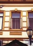 Alte Batumi-Häuser Stockfotografie