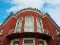 Alte Batumi-Häuser Lizenzfreies Stockbild