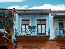 Alte Batumi-Häuser Stockfotos
