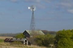 Alte Bauernhof-Szene Lizenzfreie Stockfotografie