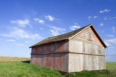 Alte Bauernhofhalle Lizenzfreie Stockfotos