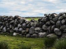 Alte Bauernhofwand stockbild