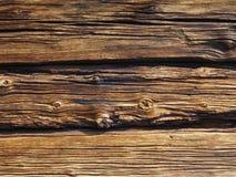 Alte Bauholzwand Stockfotografie