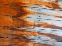 Alte Bauholzwand Lizenzfreie Stockbilder