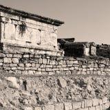 alte Bauspalte und römische die Tempelgeschichte pamukkal Lizenzfreie Stockfotografie