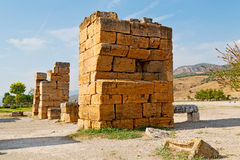 alte Bauspalten-Tempelgeschichte Lizenzfreie Stockfotos