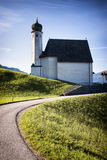 Alte bayerische Kirche Lizenzfreie Stockfotografie
