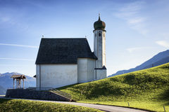 Alte bayerische Kirche Lizenzfreies Stockbild