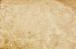 Alte befleckte Papierbeschaffenheit Stockbild