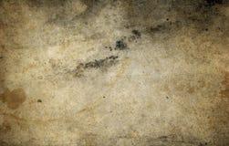 Alte befleckte Papierbeschaffenheit für Hintergrund Stockfoto