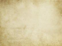 Alte befleckte Papierbeschaffenheit oder Hintergrund Stockfotografie