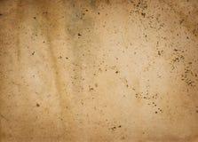 Alte befleckte Papierbeschaffenheit oder Hintergrund Lizenzfreie Stockfotografie
