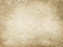 Alte befleckte und gelb gefärbte Papierbeschaffenheit Lizenzfreie Stockfotografie
