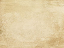 Alte befleckte und gelb gefärbte Papierbeschaffenheit Stockfoto