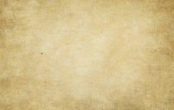 Alte befleckte und gelb gefärbte Papierbeschaffenheit Lizenzfreie Stockfotos