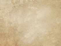 Alte befleckte und gelb gefärbte Papierbeschaffenheit Stockbild