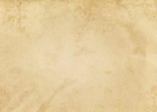 Alte befleckte und gelb gefärbte Papierbeschaffenheit Lizenzfreies Stockfoto