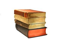 Alte, befleckte und heftige Bücher Lizenzfreies Stockbild