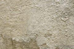 Alte beige Betonmauerhintergrundbeschaffenheit Lizenzfreies Stockbild