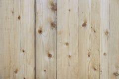 Alte beige Bretterzaunhintergrundbeschaffenheit Stockbilder