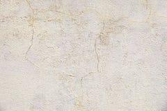 Alte Beige gemalte Wandhintergrundbeschaffenheit Lizenzfreies Stockfoto