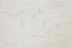 Alte Beige gemalte Wandhintergrundbeschaffenheit Lizenzfreie Stockbilder