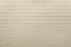 Alte beige Keramikziegelhintergrundbeschaffenheit Lizenzfreie Stockfotos