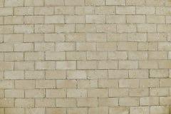 Alte beige Stein-pavementl Hintergrundbeschaffenheit Stockfotos