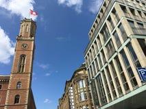 Alte-Beitrags-Turm Lizenzfreies Stockfoto