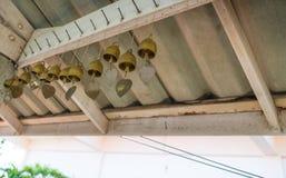 Alte Bell auf Dach Lizenzfreies Stockbild
