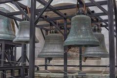 Alte Bell im Veliky Novgorod Lizenzfreie Stockfotos