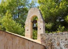 Alte Bell in Rethymno, Kreta, Griechenland Lizenzfreie Stockbilder
